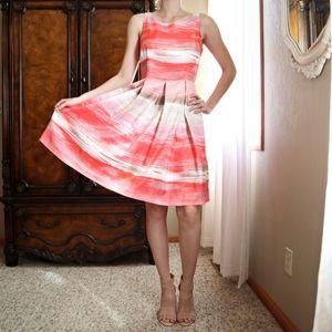 Studio One Knee Length Sleeveless A-line Dress